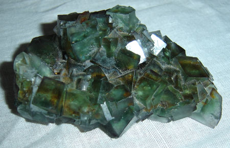 Image: photo of lovely fluorite crystal
